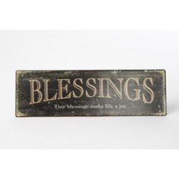 'Blessings' sign