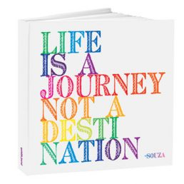 'Life is a journey not a destination' journal