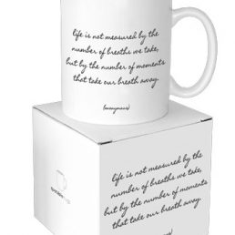 life measured mug