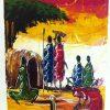 Kenyan Painting