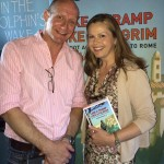 Harry Bucknall with Liz Earle
